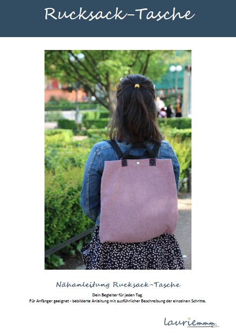 Rucksack Tasche selber nähen