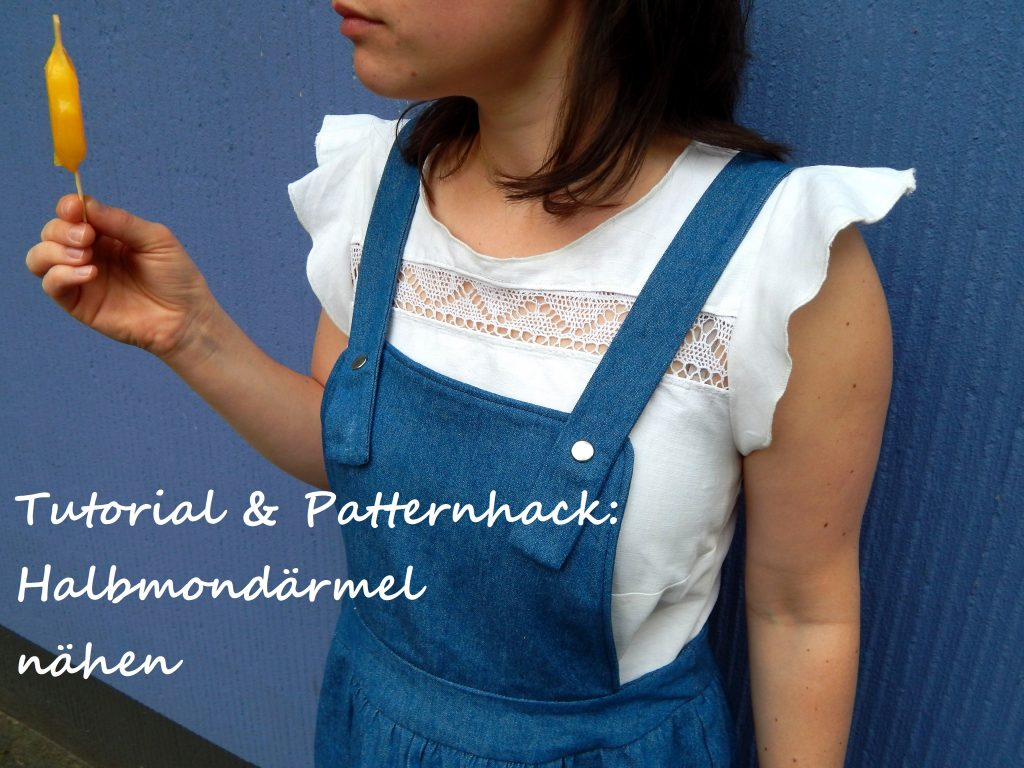 Patternhack Tutorial Halbmondärmel